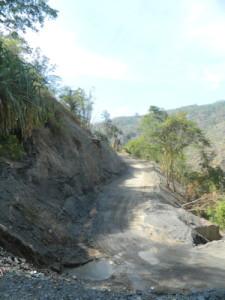 Dili mountain road