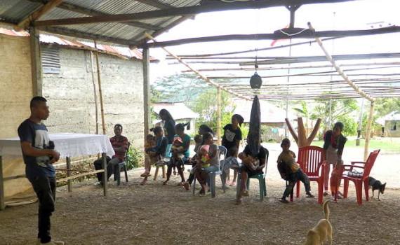 A village health clinic